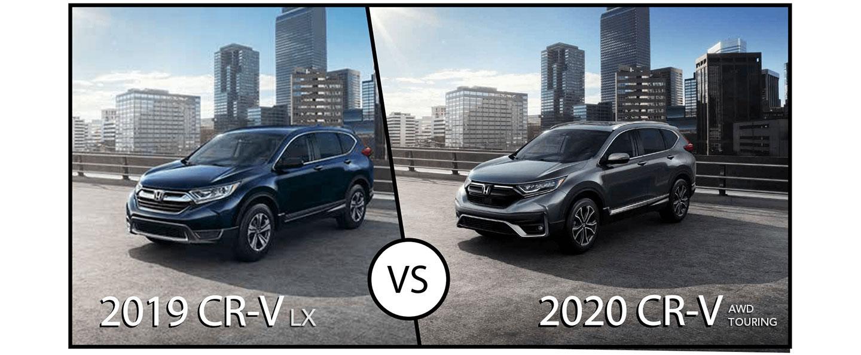Comparison Guide: 2020 Honda CR-V vs 2019 Honda CR-V - What's New?