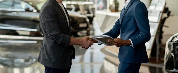Car Dealership Handshake