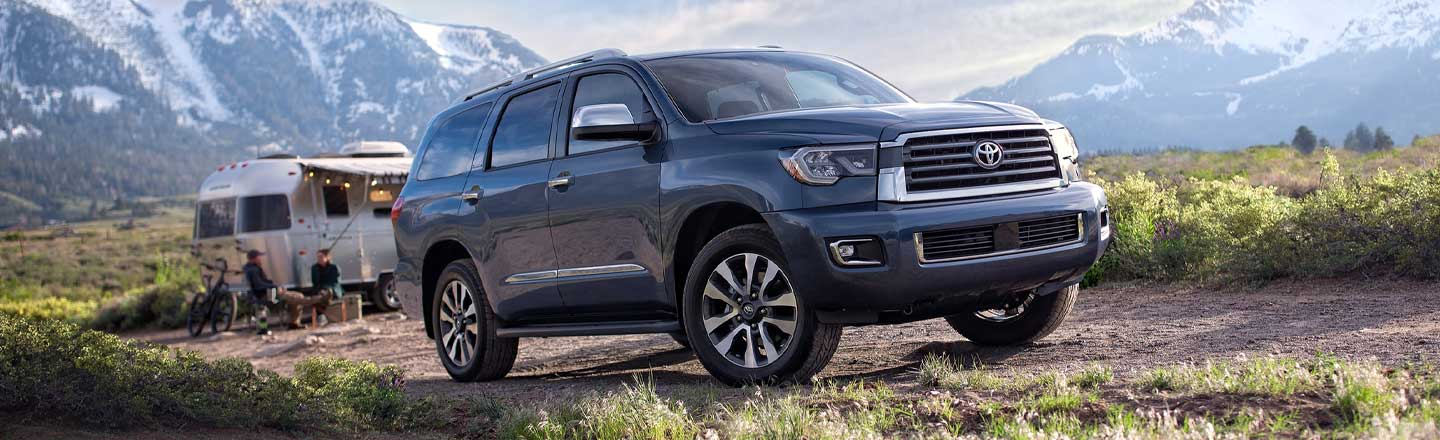 The 2020 Toyota Sequoia SUV Is Here For You In Hickory, NC!