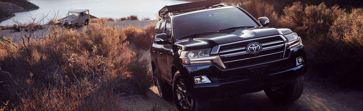Explore The Power Of The New 2020 Toyota Land Cruiser In Hickory, NC