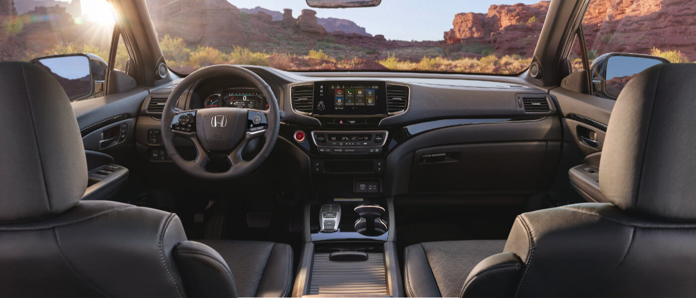 2021 Honda Passport interior