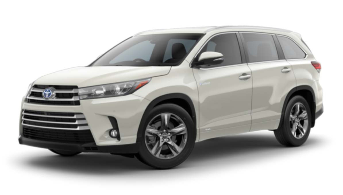 New toyota Highlander Hybrid