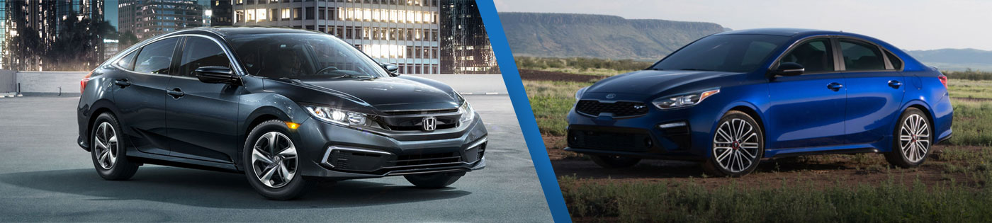 Comparing The Honda Civic Sedan Against The Kia Forte In Cartersville
