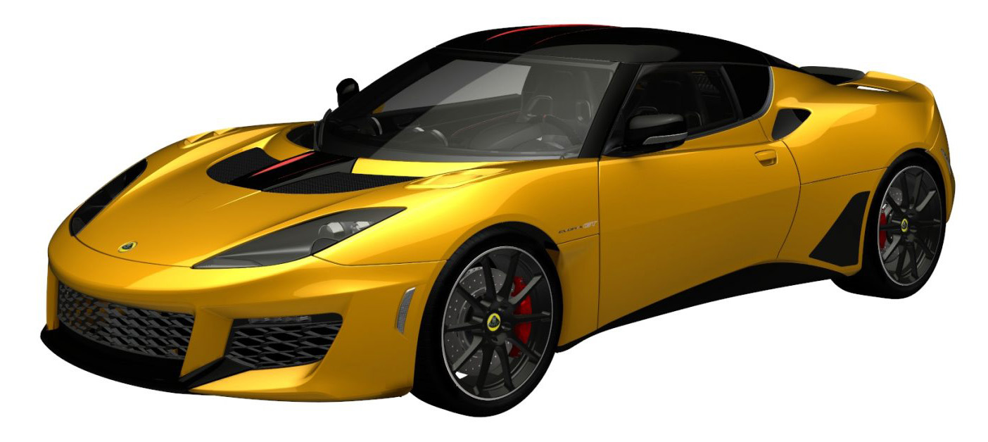 evora gt bespoke liquid yellow