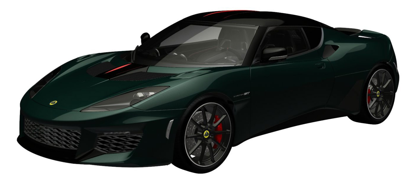 evora gt premium empire green