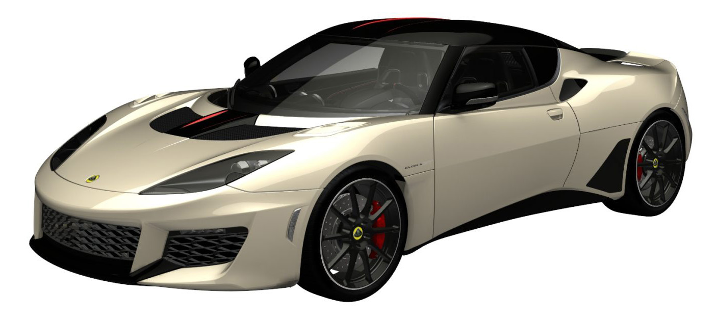 evora gt premium old english white