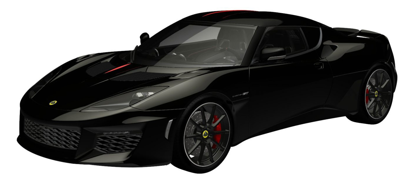 evora gt premium phantom black