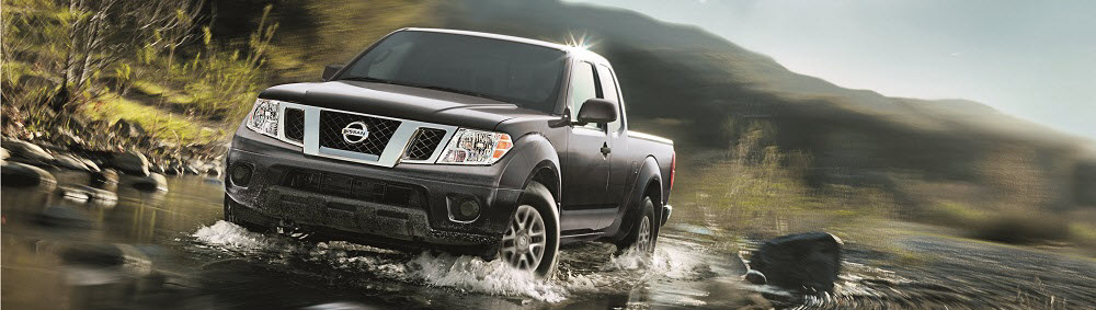 Nissan Frontier Driving