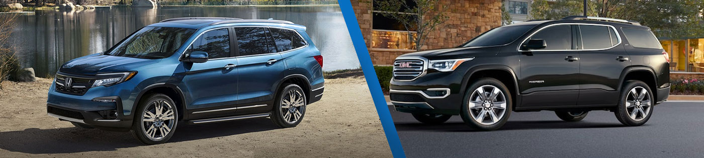 Differences Between The 2020 Honda Pilot & GMC Acadia SUVs