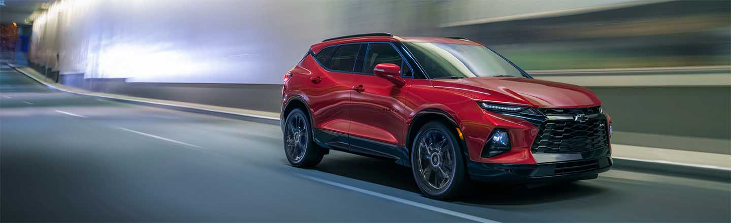 Meet The 2020 Chevrolet Blazer SUV In Costa Mesa, California