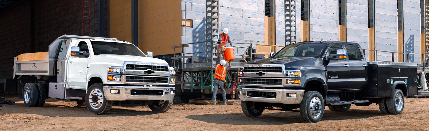 Meet The 2020 Silverado Medium-Duty Chassis Cab In Costa Mesa, CA