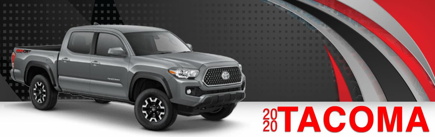 2020 Gray Exterior Tacoma On Road at Stevinson East Toyota
