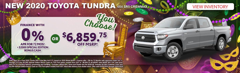 2020 Tundra special