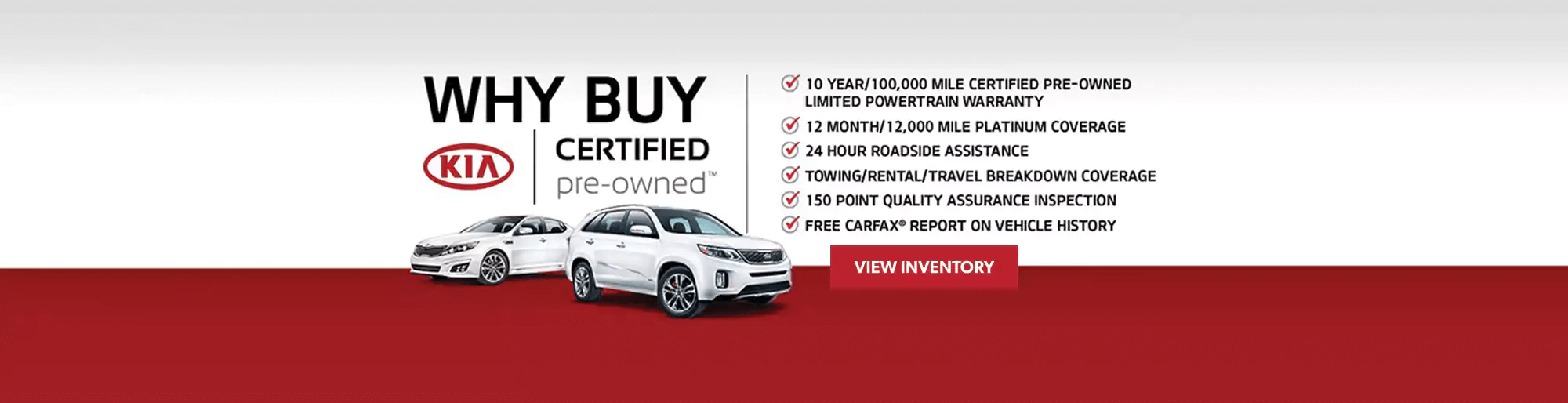 Kia Certified Preowned Used Benefits