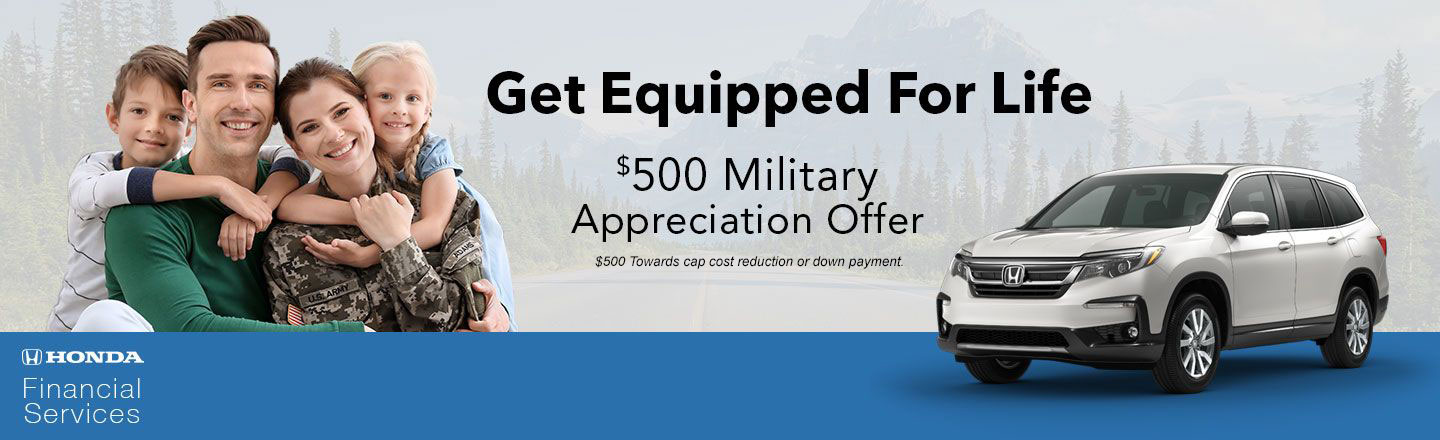 Check Out The Honda Military Appreciation Offer In Auburn, Alabama