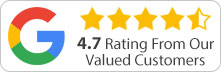 google rating graphic