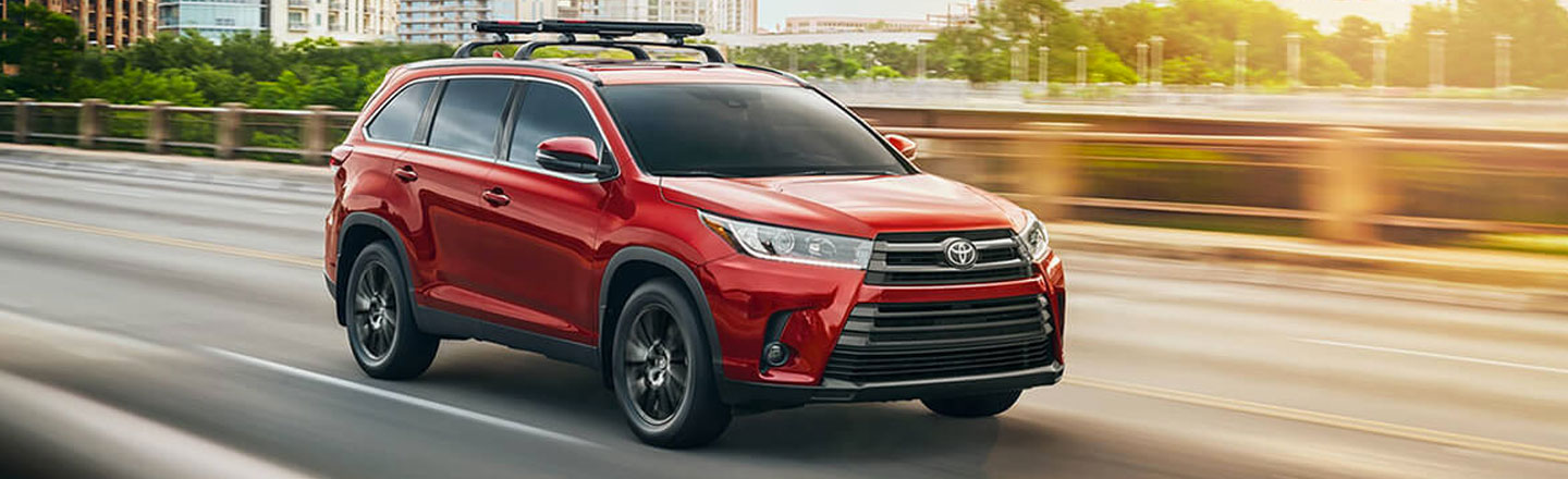 Explore the New 2020 Toyota Highlander in Venice, Florida