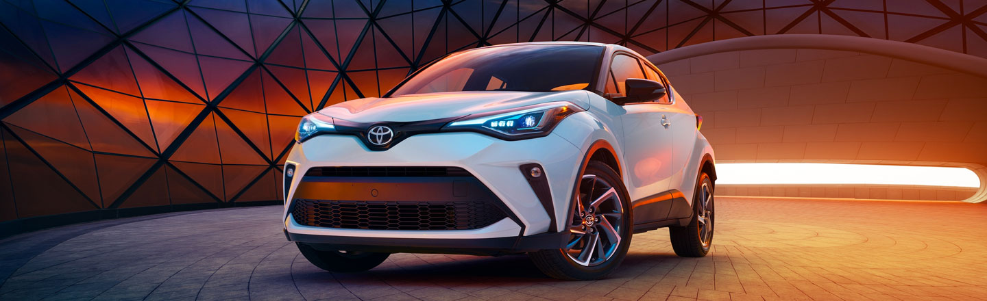 Uncover the New 2020 Toyota C-HR Crossover in Venice, Florida