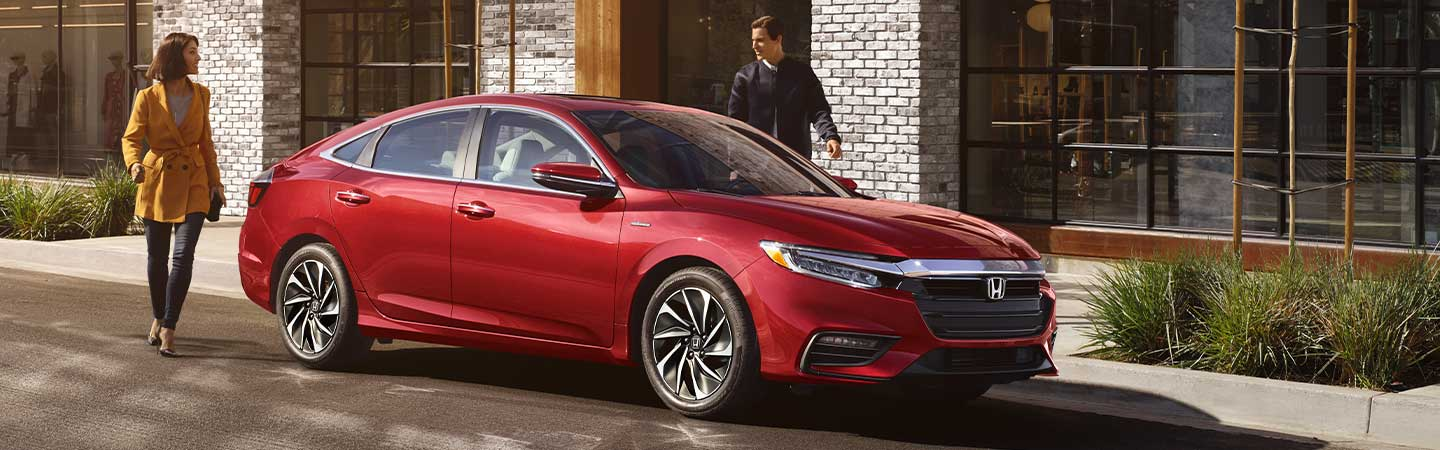 2020 Honda Insight parked on the street