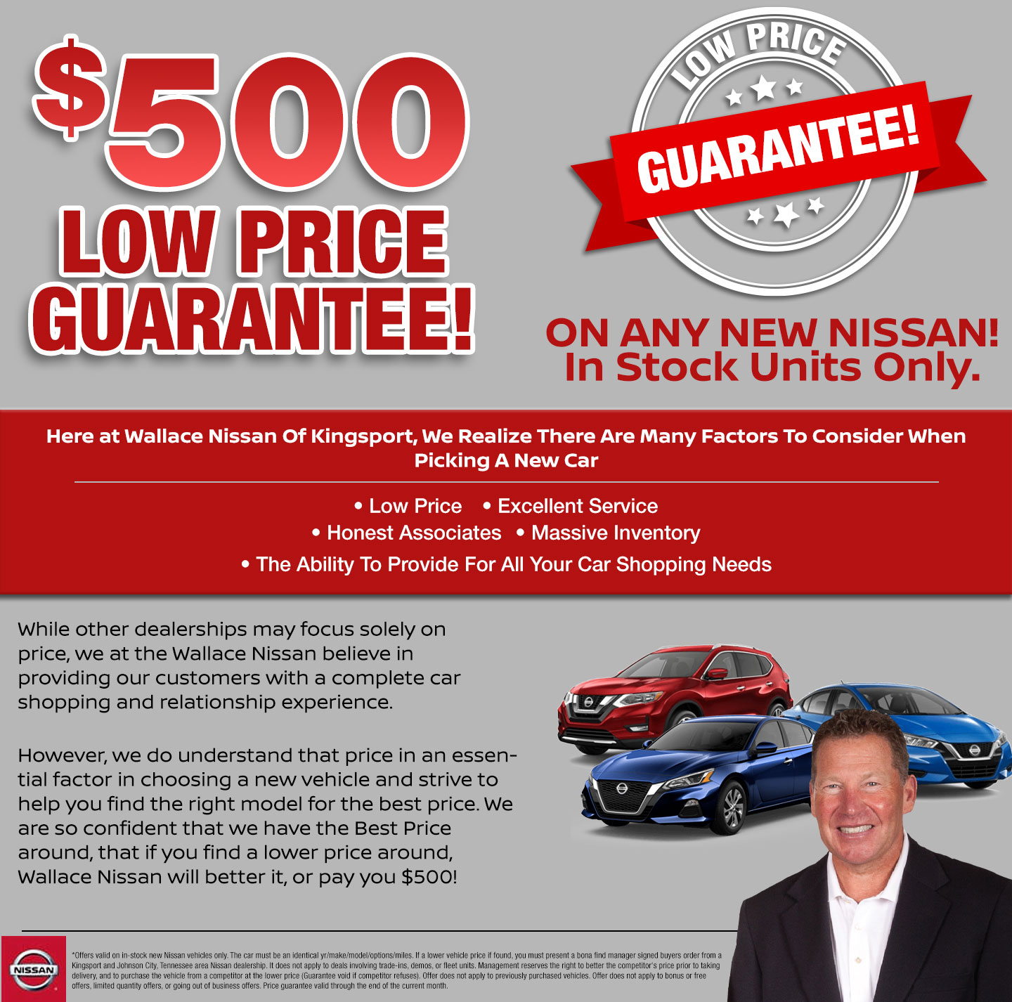 Low Price Guarantee In Kingsport, TN