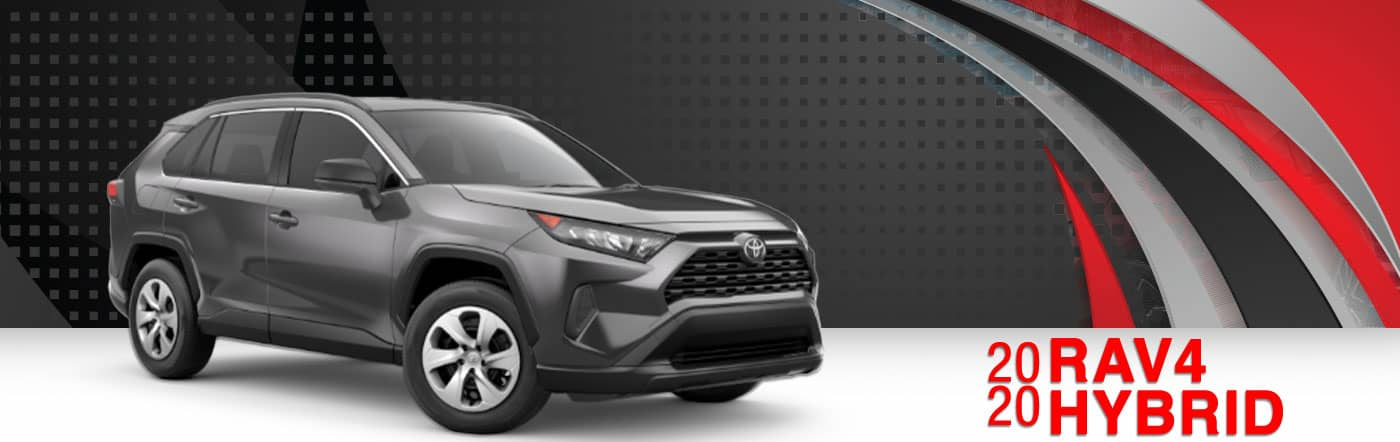 2020 Gray Exterior Rav4 Hybrid On Road at Stevinson East Toyota