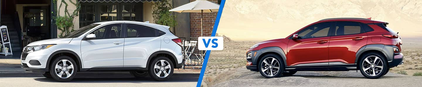 Crossover Comparison: 2020 Honda HR-V Vs. 2020 Hyundai Kona