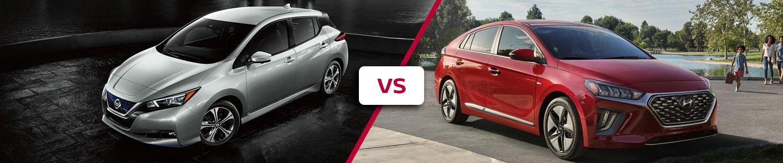 Premier Nissan of Metairie 2020 Nissan Leaf VS Ioniq