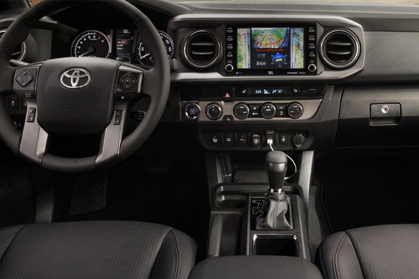 2020 Toyota Tacoma Interior & Technology Features