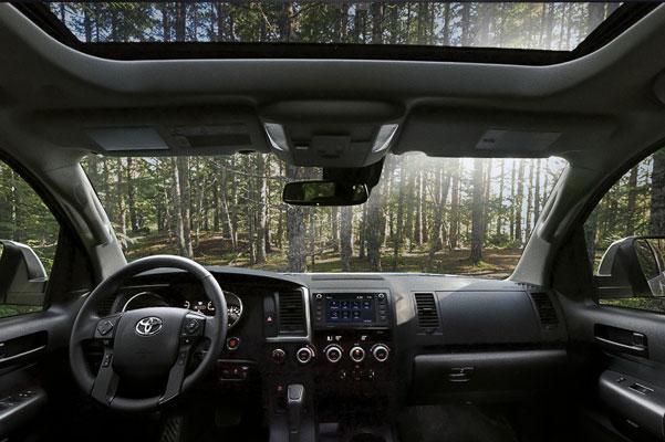 2020 Toyota Sequoia Interior & Technology Features