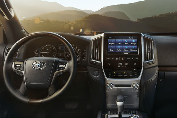 2020 Toyota Land Cruiser Interior & Technology Features