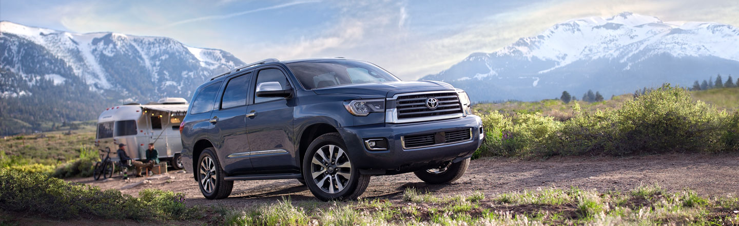 Take Home The 2020 Toyota Sequoia SUV From Toyota Of New Orleans Today