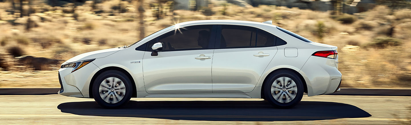 First-Ever 2020 Corolla Hybrid For Sale At Toyota Of New Orleans