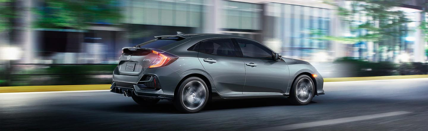 Test Drive The 2020 Honda Civic Hatchback Here In Lodi, California!