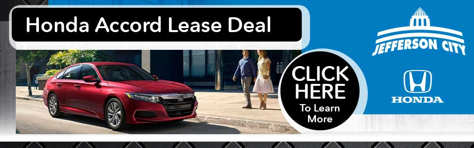 Honda Accord Lease Deal