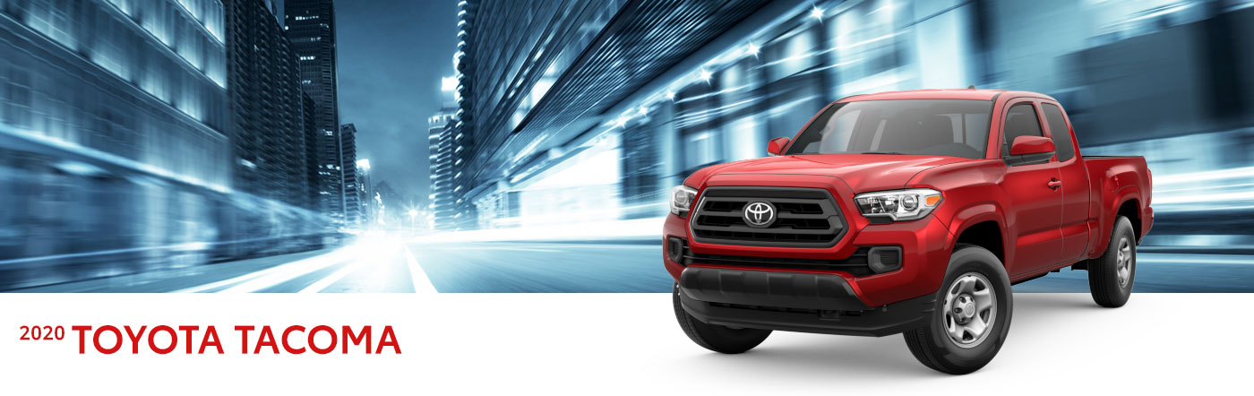 2020 toyota tacoma at Toyota of Renton