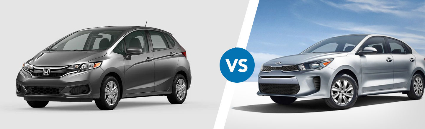 Comparing The Honda Fit Against The Kia Rio Near Cocoa Beach, FL