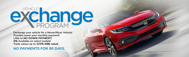Mathews Honda of Paris Vehicle Upgrade Program