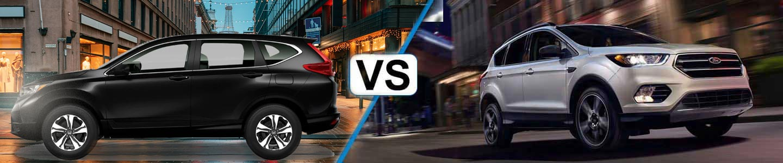 2019 Honda CR-V And Escape Compare
