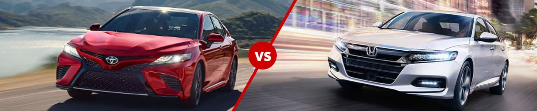 2020 Toyota Camry Versus 2020 Honda Accord