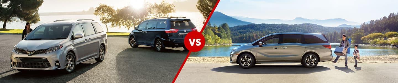 2020 Toyota Sienna Versus 2020 Honda Odyssey