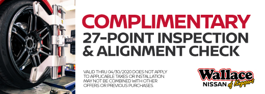 Complimentary Inspection & Alignment Check