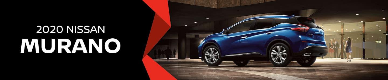 Blue Nissan Murano