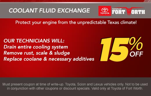 Coolant Fluid Exchange