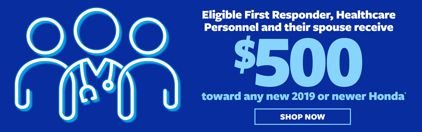 Healthcare & First Responder Offer