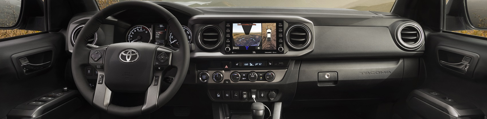 Toyota Tacoma Interior Technology
