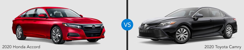 2020 Honda Accord vs. 2020 Toyota Camry in Highland Park, Illinois