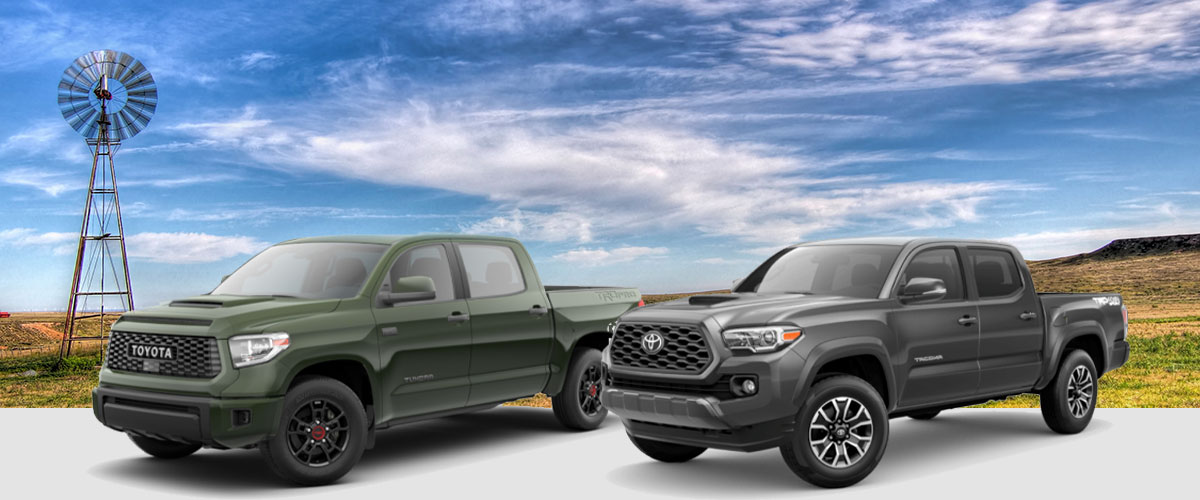 Comparing the 2020 Toyota Tacoma & Tundra Pickups