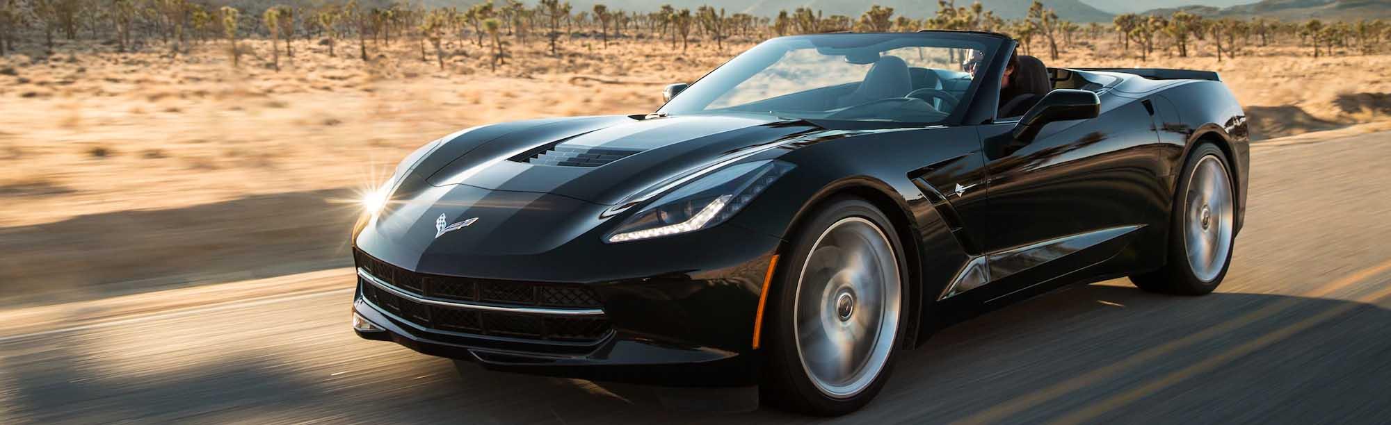 2020 Corvette Stingray On Road