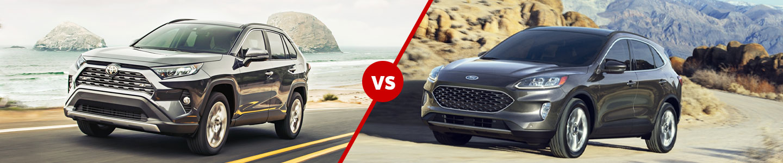 Compare The 2020 Toyota RAV4 & 2020 Ford Escape Crossover SUV