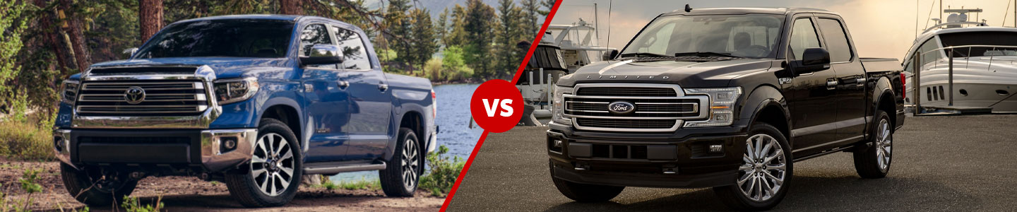 Differences Between The 2020 Toyota Tundra Against The Ford F-150